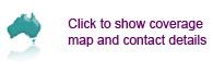 Integrity Sampling location map