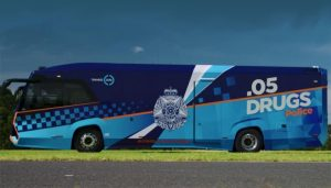 Victoria's new drug and alcohol testing buses are sleek, modern and designed to improve safety, inside and out.