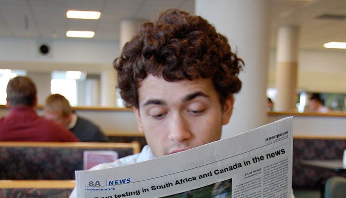 Drug testing has made the news overseas.