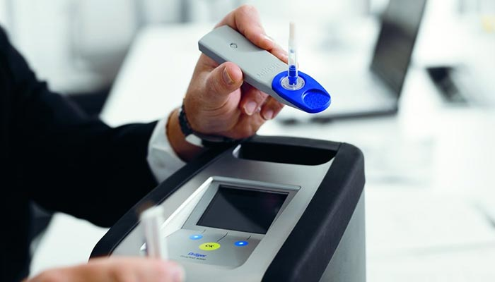 There are several proprietary methods available to conduct saliva drug testing on NSW's roads and in NSW workplaces.